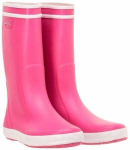 "Aigle Kinder Gummistiefel pink rosa ""Lolly-Pop"" Mädchenstiefel Gr. 36"