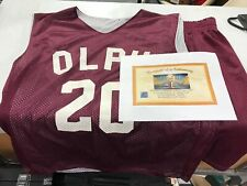 Grown Ups 2010 Bailey, Colin Quinn Screen Worn Olph Basketball Uniform w/CoA