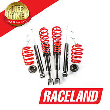 AUDI A4 B7 8E 1.8 2.0 TDI 2004-2008 RACELAND COILOVERS SUSPENSION LOWERING KIT