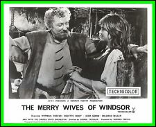 """NORMAN FOSTER & SUSANNE LOVRIC in """"The Merry Wives of Windsor"""" Original 1965"""