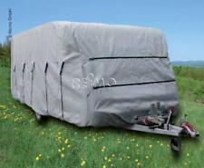 Wohnwagen Abdeck Plane Winterfest  520x230x220cm Caravan Schutz Hülle Reimo