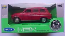 WELLY AUSTIN FX4 LONDON TAXI RED 1:34 DIE CAST METAL MODEL NEW IN BOX LONDON CAB