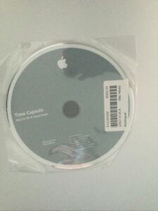 Official Apple Time Capsule Wi-Fi Software CD Disk Ver. 1.0 2008