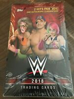 [HOBBY BOX] 2018 Topps WWE WRESTLING Factory Sealed    24 Packs/7 Cards Per Pack