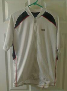 Garneau, men's cycling jersey, size large.