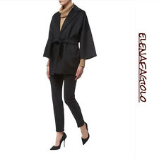 🔶 MAX MARA Coat mod.Ravello 10 USA_44 I_40 D_42 F_12 GB Cashmere 100% in Black