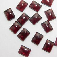 Details about  /Finest Lot Natural Mozambique Garnet 4X6 mm Octagon Cabochon Loose Gemstone
