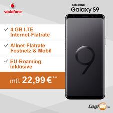 Samsung Galaxy S9 Handy mit Vodafone Vertrag 4GB Allnet-Flat 22,99€ mtl.