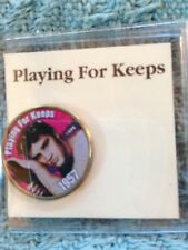 """NOS ELVIS MYSTIC STAMP COLORIZED QUARTER GREATEST HITS """"PLAYING FOR KEEPS"""""""