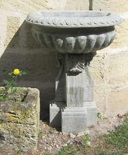 fontaine de jardin marbre taille directe bassin