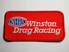 NHRA Winston Drag Racing Patch