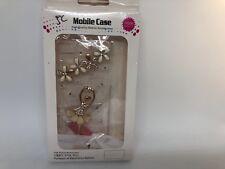 FOR IPHONE 5 CASE LUXURY BLING CRYSTAL DIAMOND 3D COVER - ballerina