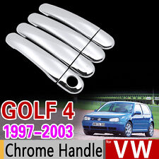 Chrome Handle Cover Set for VW Golf 4 MK4 Rabbit A4 1J 1997 1998 1999 2003 Car