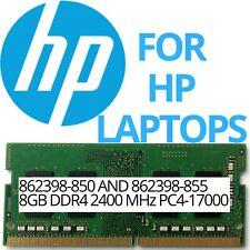Genuine OEM HP Memory 862398-850 862398-855 8GB PC4-17000 2400MHz 1.2V DDR4 RAM