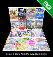 Nintendo Wii Games - *Multi-Listing* - Select an Item - Free P&P!