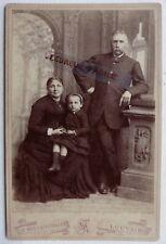 CABINET PHOTO MEEUS VERBEKE à LOUVAIN couple et enfant G158