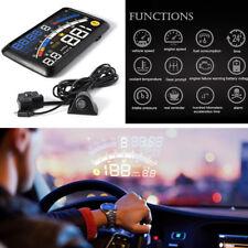 "5.5"" HUD Head-Up Display OBDII 2 EOBD Car Dash-board Mounted Projector Universal"