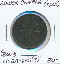LOWER CANADA BOUQUET SOUS LC2A-2A5? Bow? 1835