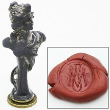 Antique Lady Wax Seal Stamp