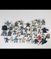 Star Wars Huge Lot Galactic Heroes Mini Figures Hasbro Mixed Toy Collection