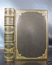 LEIGH HUNT Poetical Works ZAEHNSDORF SIGNED BINDING Poetry FINE LEATHER BOUND