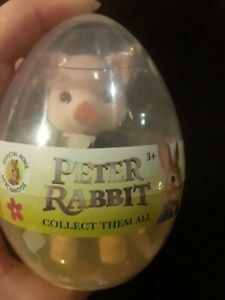 Peter Rabbit Egg Movie Character Toy New Miniature Figurine 3+ 2018 Pig Robinson