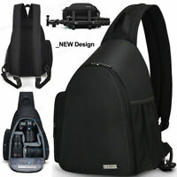 D17 Sling Camera Bag Backpack Shoulder Bag For Canon Nikon Sony Pentax Olympus