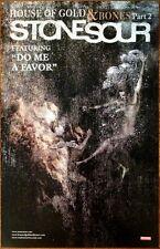 STONE SOUR House Of Gold & Bones Pt 2 Ltd Ed Discontinued RARE Poster! Hydrograd