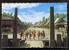 Nias Dance Costume Bawomataluo Teluk Dalam Indonesia