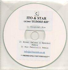 (485D) Ito & Star, Sudoko Kid - DJ CD