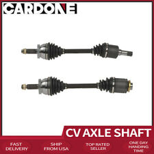 TRQ Front CV C//V Axle Shaft Assembly New Driver Side Left LH for 2007-2009 Hyundai Santa Fe 3.3L V6 with 5 Speed Automatic Transmission
