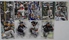 2018 Topps Update Chicago White Sox Master Team Set 9 Baseball Cards W/Inserts