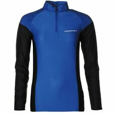 Women Long Sleeve Polyester Cycling Jerseys with Half Zipper