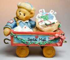 Cherished Teddies: Tony - 219487 - A First Class Delivery For You - Mail Car