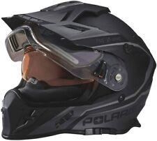 Polaris Delta 509 Snowmobile Helmet w Removable Electric Shield 2Xl Black & Grey