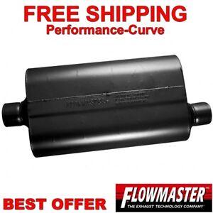 "Flowmaster Super 50 Series Muffler 2.5"" C/O 52557"
