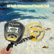 Underground Metal Detector Finder Gold Lcd Scanner Treasure Shovel Search Coil
