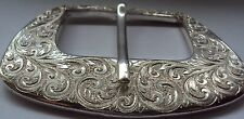 """Solid Sterling Silver Belt Buckle """"The Mayfair"""""""