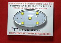FIREHOUSE ARC XL RED DRONE STROBE LOST DRONE ALARM LIGHT DJI MINI AUTEL PARROT