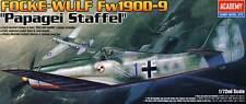Academy - Focke-Wulf FW-190D-9 PapageiStaffel Modell-Bausatz 1:72 NEU 190 D kit
