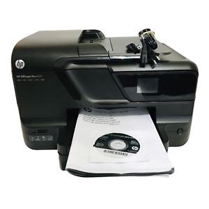 HP Officejet Pro 8600 All-In-One WiFi Inkjet Printer USB Power Cord INK Working