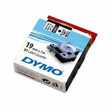 Dymo D1 Label Cassette Tape 19mm x 7mm - New