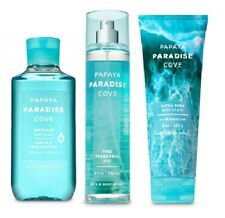 Bath & Body Works Papaya Paradise Cove Set - Cream, Mist & Shower Gel