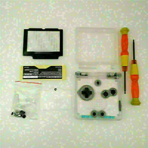 Full Shell Housing Case With Screwdriver Tool For Nintendo Game Boy Advance SP