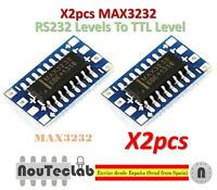 2pcs Mini RS232 MAX3232 Levels To TTL Level Module Serial Converter Board