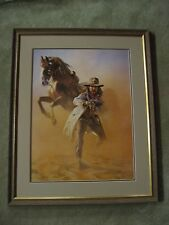 "Hermon Adams ""The Arizona Ranger"" Print Museum Quality Framed-Limited Ed.-43/500"