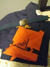Tiger cub scout uniform with shirt , scarf, belt