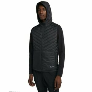 Nike AeroLayer Running Men's jacket weather proof water resistance CJ 5474-010