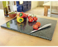 Large GRANITE CHOPPING BOARD SPECKLED STONE WORKTOP SAVER KITCHEN TOP New