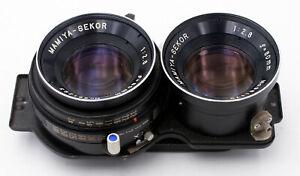 MAMIYA-SEKOR 80mm F/2.8 BLUE DOT LENS FOR MAMIYA TLR CAMERAS C220 C330 C33